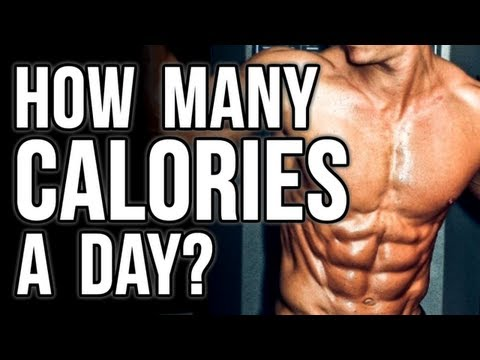 How Many Calories a Day to Gain Muscle or Lose Weight?