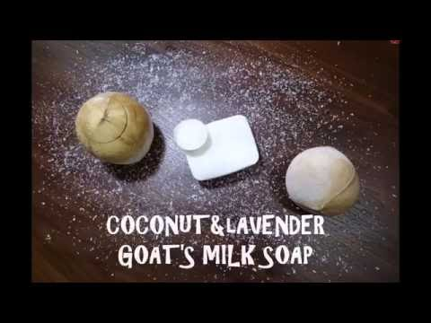 WATCH US MAKE SOAP! Coconut & Lavender Goat's Milk Melt & Pour Soap