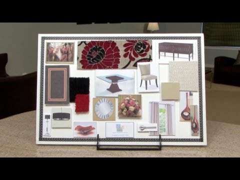 How To Make An Interior Design Color Board