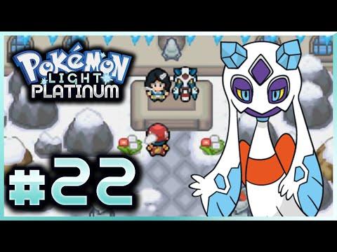 Let's Play Pokemon: Light Platinum - Part 22 - Snowce Gym Leader Sophia
