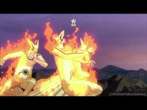 Rikudou Naruto Vs. Sasuke Uchiha (Perfect Susanoo) Final Fight- Episode terakhir