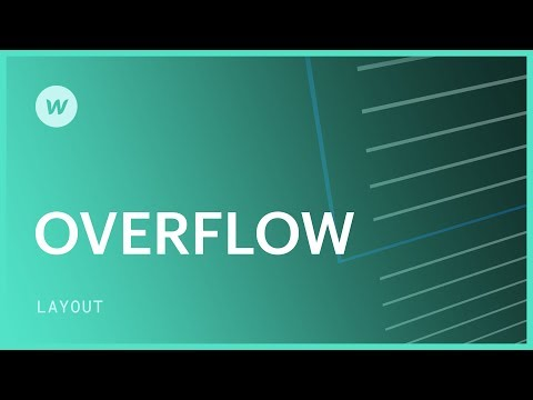 Overflow (visible, hidden, scroll, and auto) - Webflow CSS tutorial