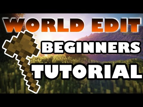 EASY World Edit Tutorial For Beginners! - Minecraft