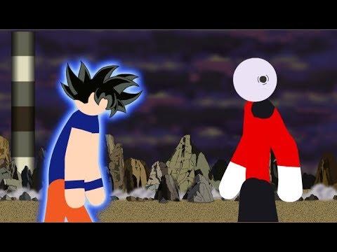 Goku Vs Jiren Stick Fight!!