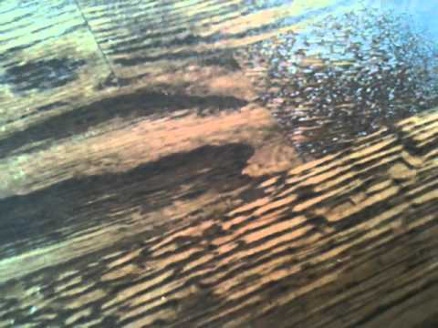 remaflooring- How to fix a dent on a hardwood floor