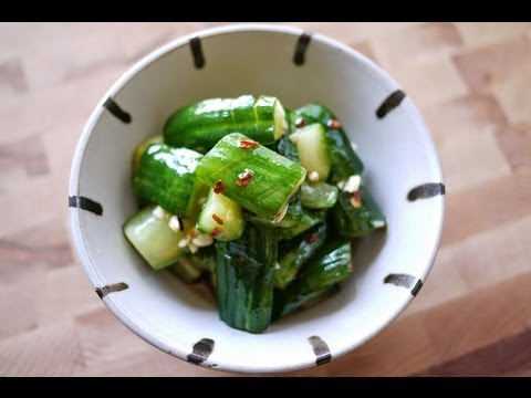 麻香醃漬黃瓜   Spicy Pickled Cucumber