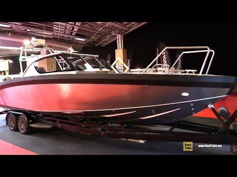 2017 Marell Boats 850 WA Aluminium Boat - Walkaround - 2016 Salon Nautique Paris