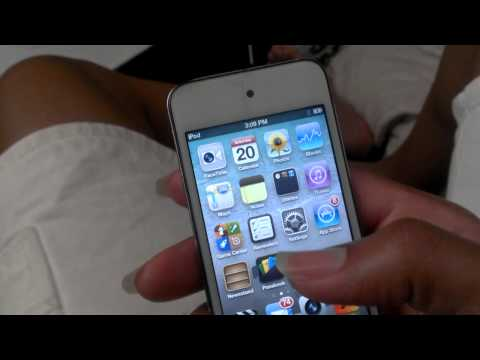 How to reboot iPod touch 4g without power button
