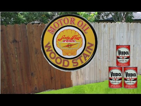 Old Motor Oil for Wood Stain
