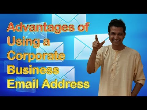 Advantages of Using a Corporate Business Email Address | Price Saving on Buying Email