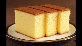 कुकर में वनीला केक बनाने का सबसे आसान तरीका | Spongy Vanilla Cake Without Oven/Basic Plain Soft Cake
