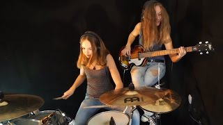 Billie Jean (Michael Jackson); Drum/Bass Cover by Milena and Sina