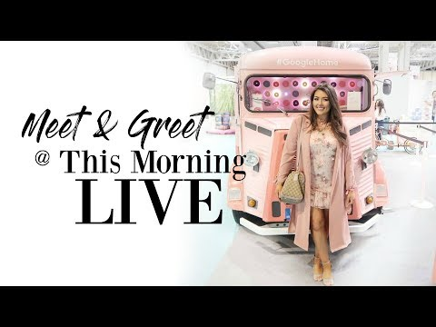 DAY IN THE LIFE VLOG | THIS MORNING LIVE MEET & GREET WITH CHANNEL MUM