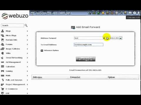 Quick Tour to the Webuzo Control Panel
