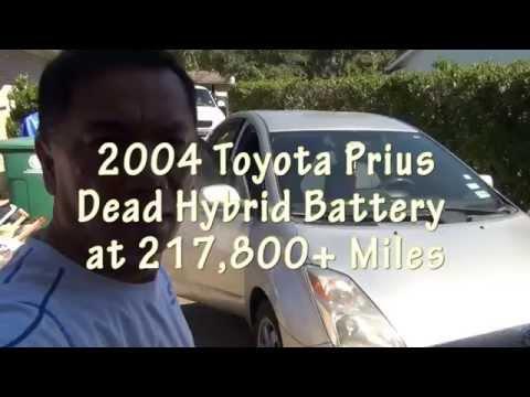 Prius Dead Hybrid Battery Intro