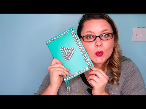 How To Make A Bedazzled Diamond Youtube Play Button Notebook!