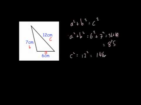 Is a Triangle Right Angled?