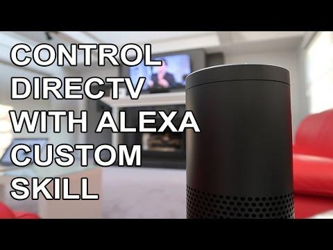 Control DirecTV with Amazon Echo - Alexa Custom Skill