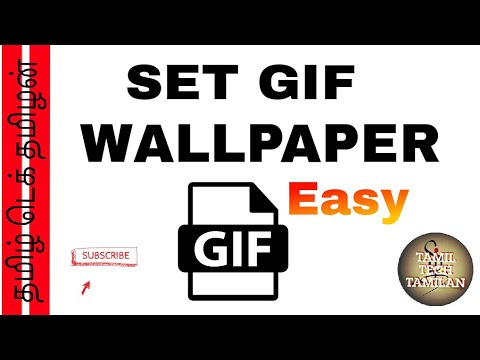 [தமிழ்] How to set  GIF WALLPAPERS EASY !!! In tamil |TAMIL TECH TAMILAN | TTT