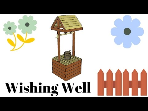 Free wishing well plans