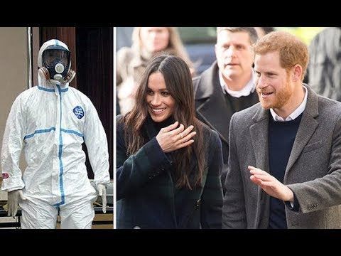 Prince Harry and Meghan Markle staff given extreme safety suits after white powder SCARE