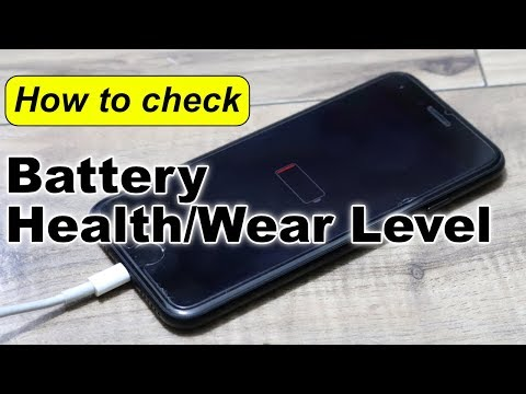 How to check your iPhone's Battery Health and Wear Level with the Battery Life App