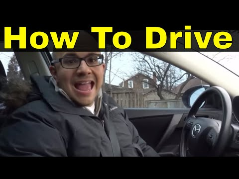 How To Drive An Automatic Car-2018 Tutorial