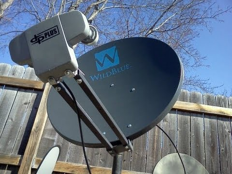 FrankenDish - Dish Network on a WildBlue Satellite Dish
