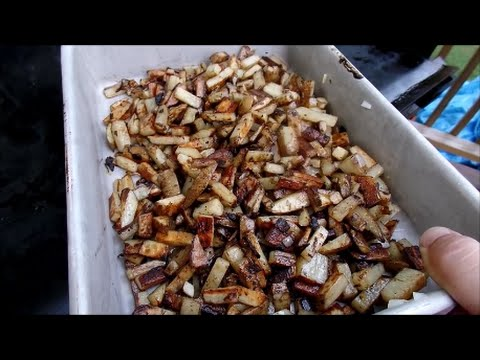 Home Fries on the Blackstone Grill