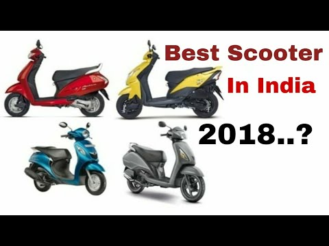 Best Scooter in 2018....???, Top 7 Scooters, Detailed descriptions
