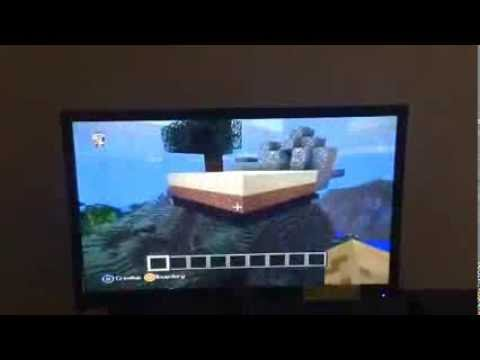 Minecraft Xbox 360: Flying very fast