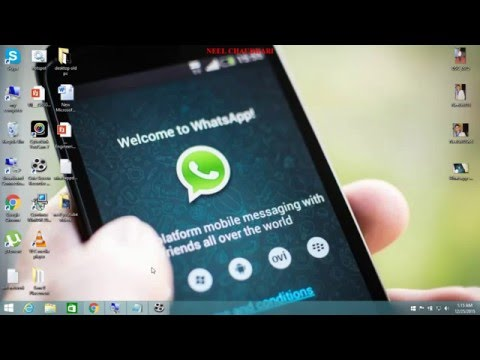 How to change your friend's profile picture on whatsapp- BY NEEL CHAUDHARI