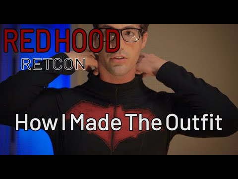 How I made My Red Hood Outfit