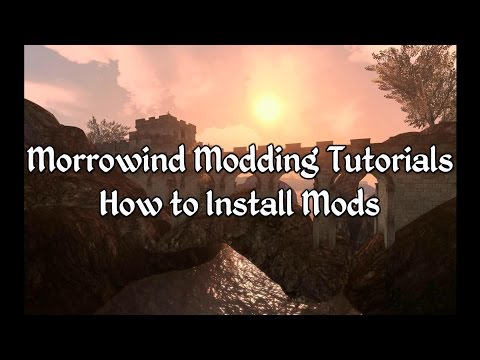 Morrowind Modding Tutorials - How to Install Mods