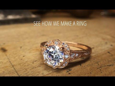 How To Make a Diamond Ring | Christopher Duquet Award Winning Custom Fine Jewelry