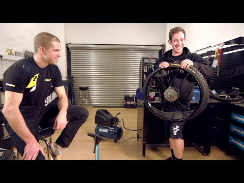 How To Fit a Tubeless Bike Tyre With Dan Atherton