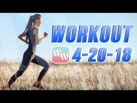 Workout 4-20-18