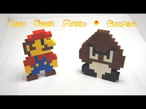 How to Build Lego Super Mario & Goomba Tutorial