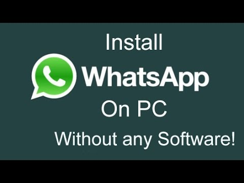 How to Install Whatsapp on PC without Bluestacks and Youwave [2015]
