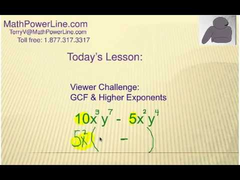 Viewer Challenge: Factoring Binomials with GCF and Higher Exponents