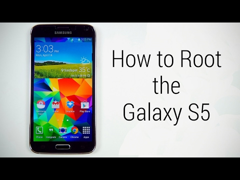 how to root samsung galaxy s5 (easy way)