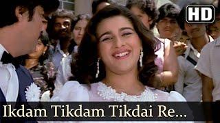 Ikdam Tikdam Tikdai Re (HD) - Karamdaata Song - Mithun Chakraborty - Amrita Singh - Asha Bhosle Hits