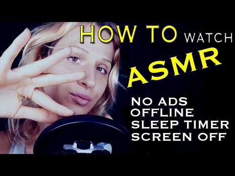 Better Way To Watch ASMR? Mic Touching and Whispering Updates | Tingles App