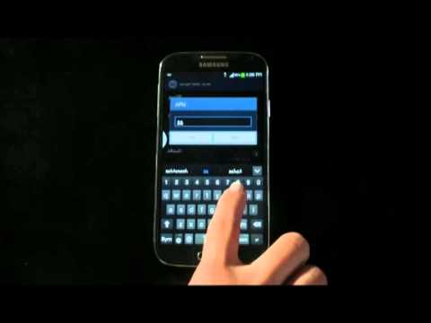 How to setup the Internet settings for Samsung Galaxy S4 which running Jelly Bean OS (Arabic)