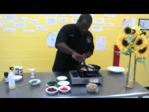 Chef Damon Recipe Series: Whole Wheat Chicken Pasta