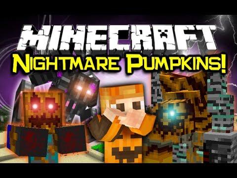 Minecraft PUMPKIN MOBS MOD Spotlight! - Pumpkins Re-Imagined! (Minecraft Mod Showcase)