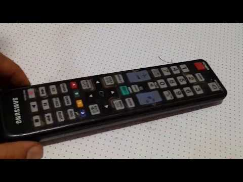 How to open and repair tv remote control
