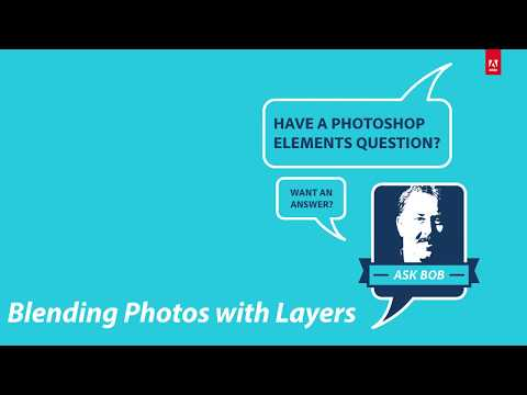 Blending Photos with Layers in Photoshop Elements 15