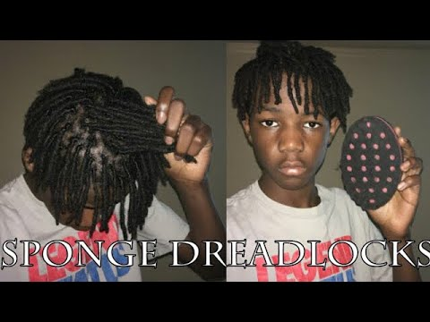 How To Get Dreadlocks In 10Minutes With A Sponge