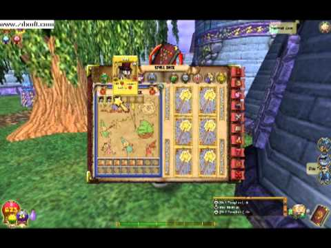 Wizard 101 how to use Treasure cards